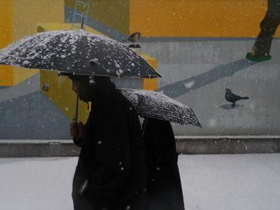 کاهش ۷ تا ۱۵ درجه دمای هوای گیلان/ بارش مخلوط برف و باران در جلگه