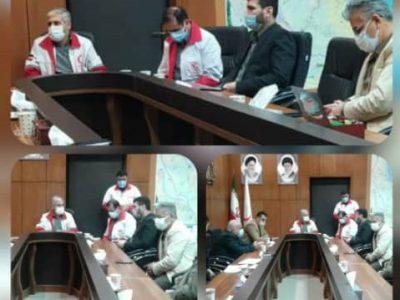 جلسه مشترک رییس هیات نجات غریق و مدیرعامل هلال احمر گیلان برگزار شد