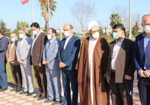 رژه خودرویی به مناسبت یوم الله ۲۲بهمن در لنگرود