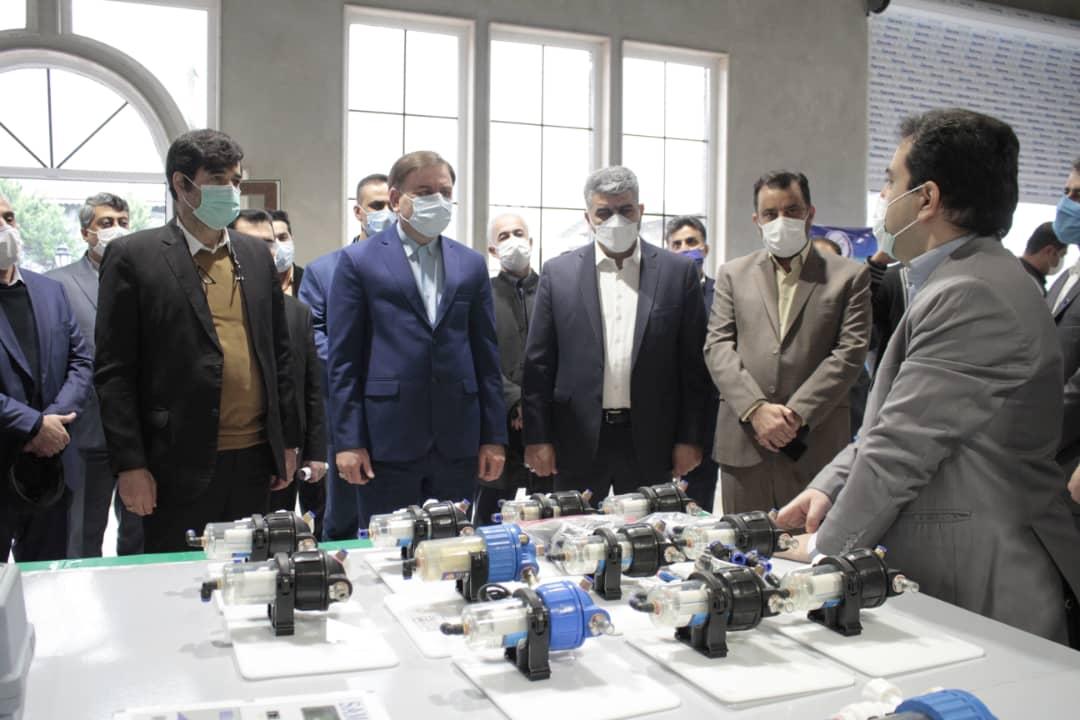 c4a219b9-ec03-4e57-9418-d53e59cf8497 افتتاح 24 پروژه صنعتی و عمران روستایی همزمان با چهل و دومین سالگرد پیروزی انقلاب اسلامی