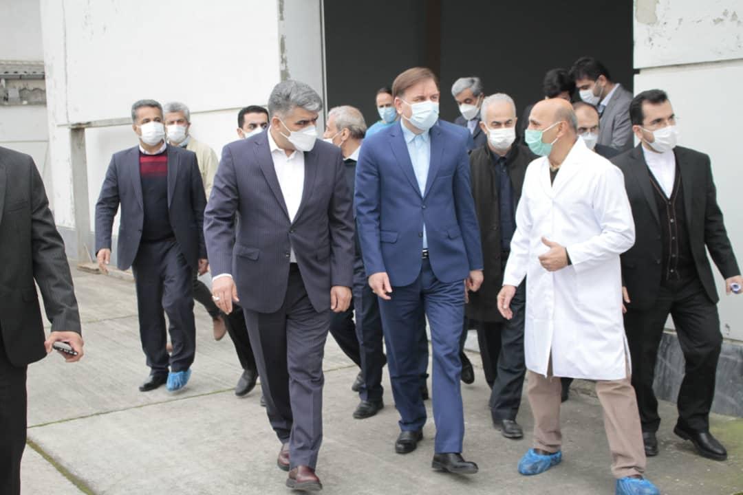 ed671f7c-4bbe-4022-9229-8a43dc659352 افتتاح 24 پروژه صنعتی و عمران روستایی همزمان با چهل و دومین سالگرد پیروزی انقلاب اسلامی