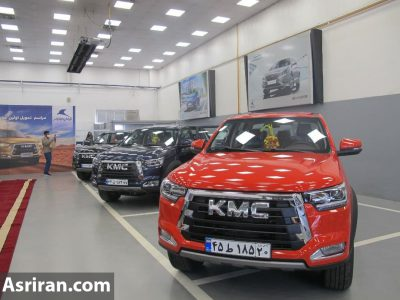 نخستین سری از خودرو جدید KMC T8 کرمان موتور تحویل خریداران شد (+عکس و مشخصات خودرو)