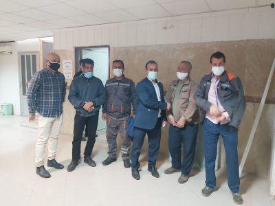 آغاز مرحله نخست واکسیناسیون پاکبانان شهرداری چاف و چمخاله