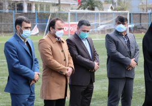 بازدید شهردار لنگرود از تمرینات تیم فوتبال زیر ۱۷ سال شهید املاکی لنگرود