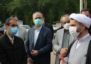 بازدید شهردار رشت، مدیرکل دادگستری و دادستان استان گیلان از لندفیل و تصفیه خانه شیرابه سراوان