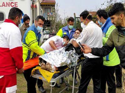 ۳ کشته و سوخته براثر انفجار گاز در رودسر