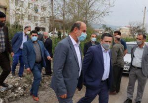 شهردار لنگرود: ساماندهی نهر واقع در خیابان آزموده در دستور کار شهرداری قرار گرفت