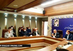 در مراسم معارفه مدیرعامل جدید سازمان منطقه آزاد انزلی چه گذشت؟ + گزارش تصویری