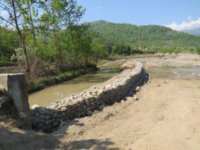 ۷۵ درصد از سردهنههای تالش آبگذاری شده اند