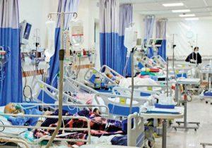 تختهای بیمارستانی گیلان مملو از مبتلایان به کرونا | بستری ۱۸۲ بیمار جدید