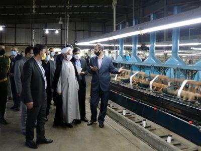 ظرفیت تولید کارخانه صنایع ابریشم طی بازه شش ماهه به هشتاد درصد میرسد
