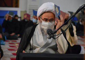 مراسم احیای شب بیستویکم ماه رمضان در مصلای رشت
