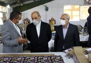 بازدید مشاور رییس جمهور از چند واحد تولیدی منطقه آزاد انزلی