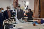 عیادت شهردار رشت از کارگر آسیب دیده | لزوم هماهنگیهای لازم جهت تسریع در فرآیند درمان
