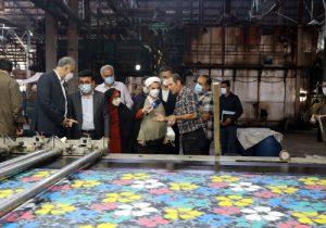 فلاح میری: شاهد روند رو به رشد تولید در کارخانه ایران پوپلین هستیم