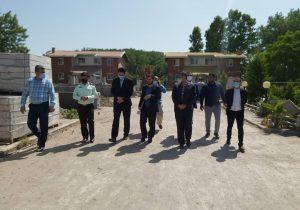 بازدید قاضی ویژه رسیدگی به اراضی ملی لنگرود از چاف و چمخاله
