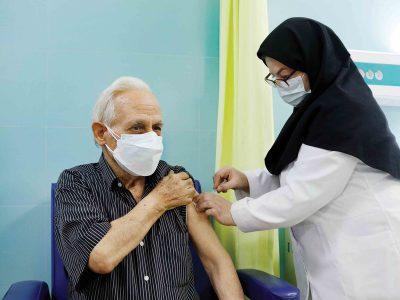 واکسیناسیون زیر ۶۵ سالهها در گیلان