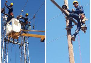 آمادگی ۲۴ ساعته نیروهای عملیاتی شرکت توزیع برق جهت گذر موفق از تابستان