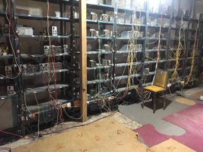 تعدادی دستگاه رمز ارز دیجیتال غیر مجاز در استان گیلان جمع آوری شد