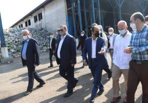بازدید نماینده مقیم عمران سازمان ملل متحدد از شرکت کود آلی گیلان