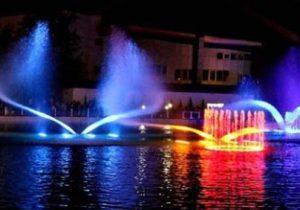 راه اندازی مجدد آبنمای موزیکال بوستان ملت رشت پس از چند سال خاموشی