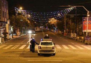 محدودیت تردد شبانه خودروها امشب نیز اجرا نمیشود