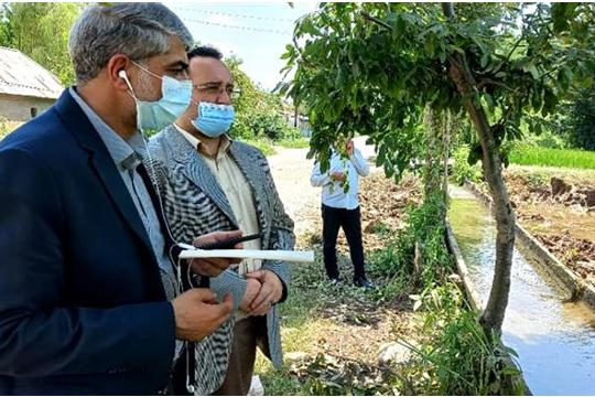 بازدید نماینده شهرستان های فومن و شفت از خطوط انتقال مجتمع آبرسانی سرداران شهید فومن