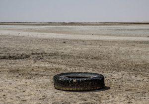 تصاویر| فاجعه در تالاب گاوخونی؛ غول خفتهای که روزی بیدار میشود