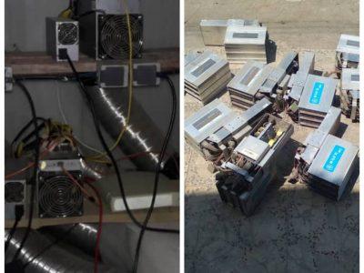 کشف و شناسایی ۴ مرکز غیر قانونی استخراج رمزارز در استان گیلان