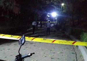 انفجار شی ناشناس در محدوده پارک ملت تهران