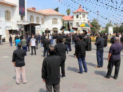 برگزاری مراسم اجتماع بزرگ تاسوعایی در رشت