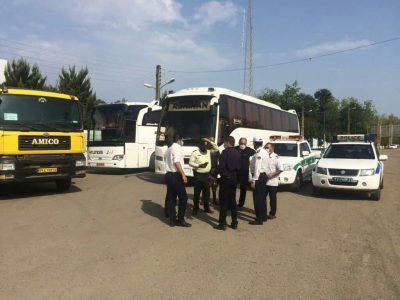 جلوگیری از تورهای غیرمجاز در رضوانشهر   برخورد با ۲ دستگاه اتوبوس و ۴ دستگاه پاترول