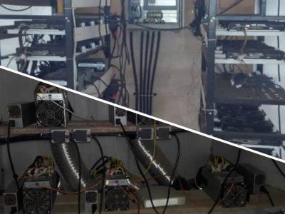 کشف ۲ مرکز و ۱۱ دستگاه استخراج غیرمجاز رمزارز در شهرستانهای تالش و کوچصفهان