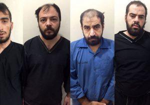 این ۴ مرد پلید را می شناسید؟ / کرج را به هم ریختند + عکس چهره باز و اسامی متهمان