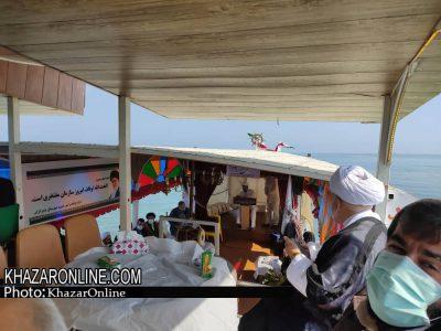 بزرگداشت دهه وقف در قایق تفریحی + تصاویر!