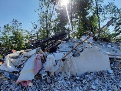 تخریب ویلای ۱۴۴۰ متری در روستای بارکوسرا لاهیجان