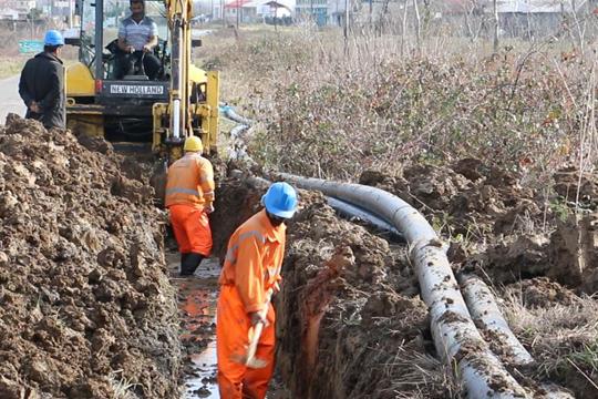 اصلاح و بازسازی ۱۶ کیلومتر از شبکه های آبرسانی گیلان